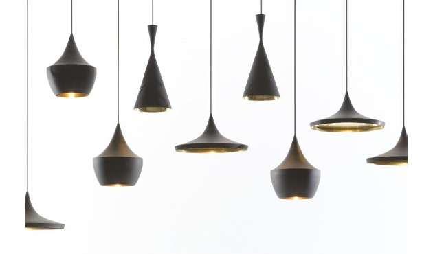 Tom Dixon - Beat Tall hanglamp - zwart - 11