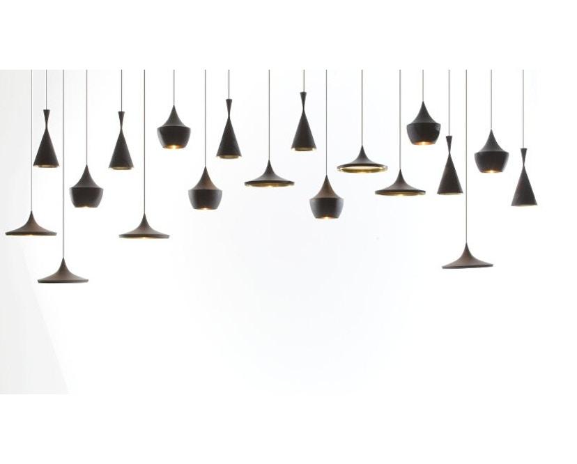 Tom Dixon - Beat Wide hanglamp - messing geborsteld - 3
