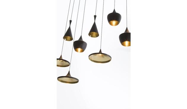 Tom Dixon - Beat Wide hanglamp - messing geborsteld - 4