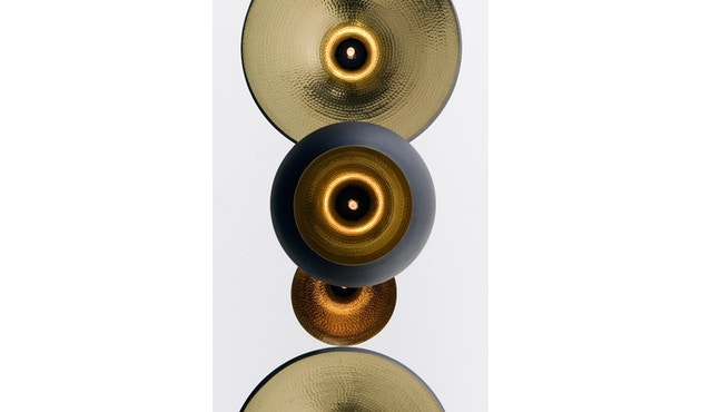 Tom Dixon - Beat Wide hanglamp - messing geborsteld - 5