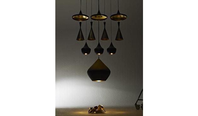 Tom Dixon - Beat Wide hanglamp - messing geborsteld - 6