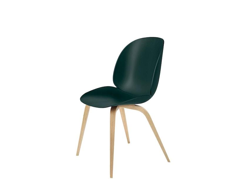 Gubi - Beetle Dining stoel - groen - frame eik natuur - 1