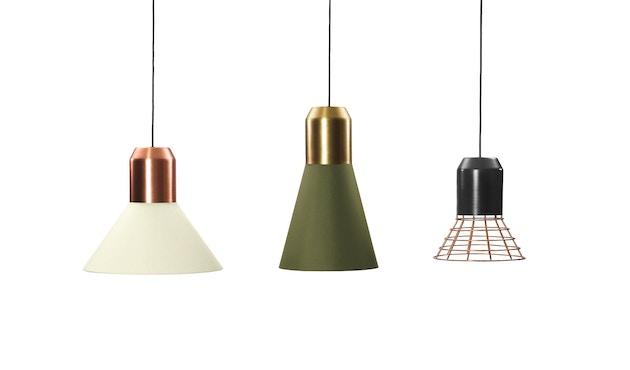 Classicon - Bell Light - Fassung: Anthrazitgrau - Lampenschirm: Weiß, 32cm Ø - 2