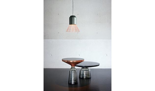 Classicon - Bell Light - Fassung: Anthrazitgrau - Lampenschirm: Weiß, 32cm Ø - 3