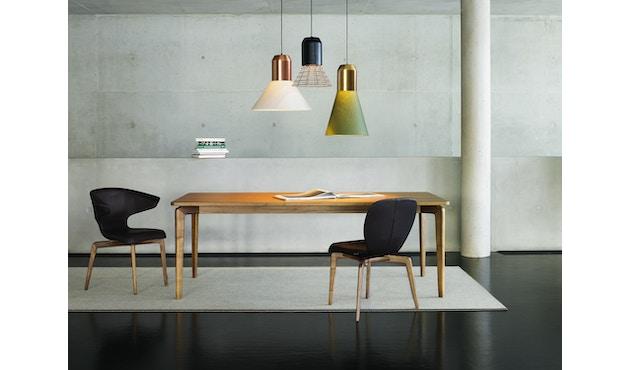 Classicon - Bell Light - Fassung: Anthrazitgrau - Lampenschirm: Weiß, 32cm Ø - 4