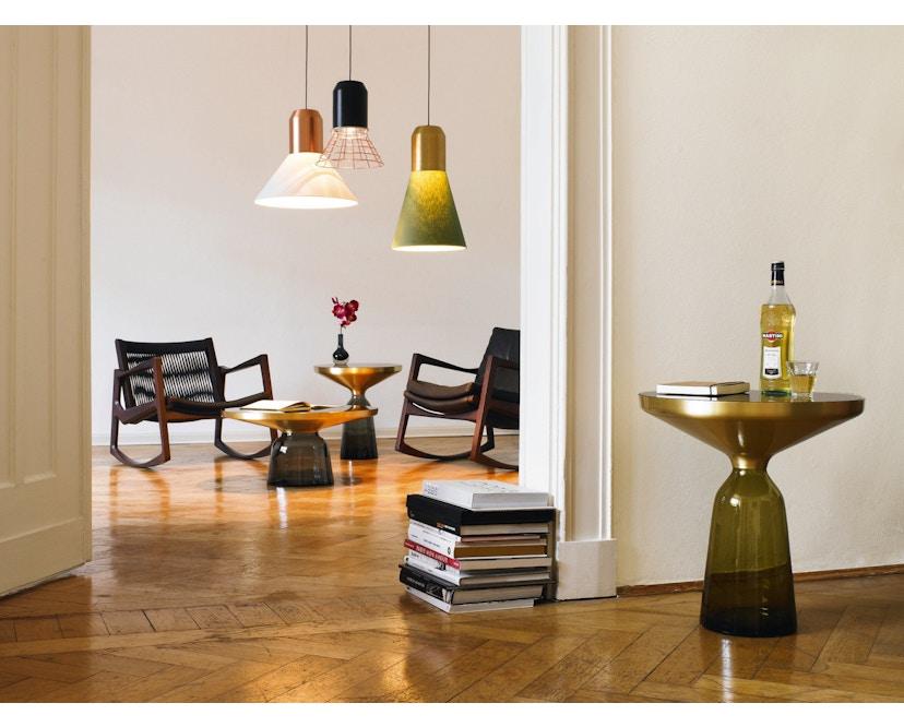 Classicon - Bell Light - Fassung: Anthrazitgrau - Lampenschirm: Weiß, 32cm Ø - 5