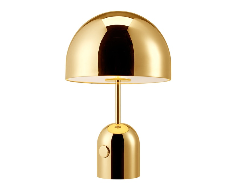 Tom Dixon - Bell Table Tischleuchte - messing - 2