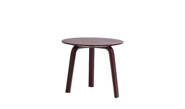 HAY - Table Bella Coffee - Ø 45 x H 39 cm - brique foncée - 8