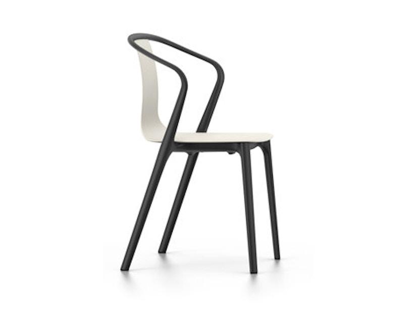 Vitra - Belleville Chair mit Armlehnen - creme - 1