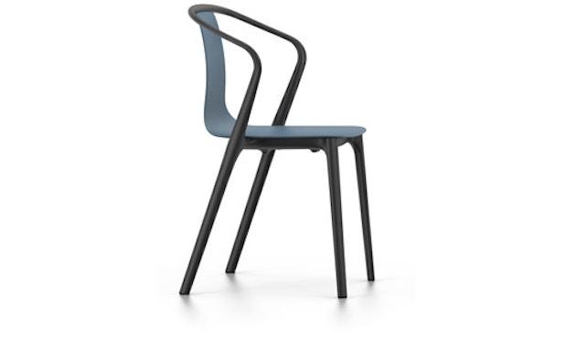 Vitra - Belleville Chair mit Armlehnen - meerblau - 1