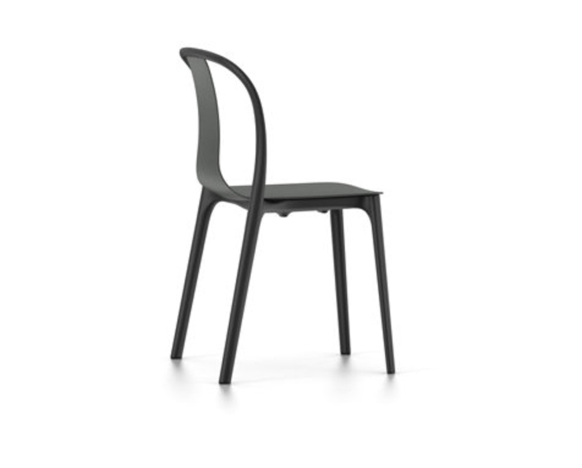 Vitra - Belleville Chair ohne Armlehnen - basalt - 1