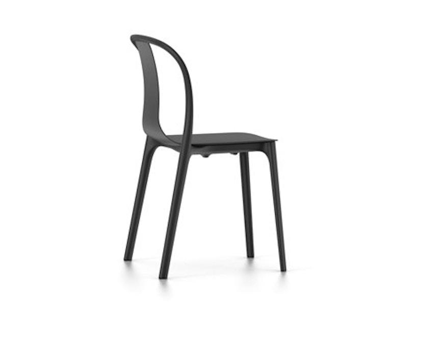 Vitra - Belleville Chair ohne Armlehnen - schwarz - 1
