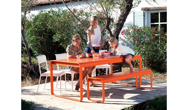 Fermob - BELLEVIE tafel - 02 cedergroen mat - 5