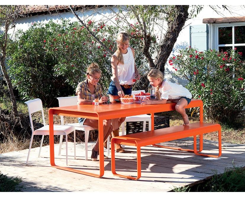 Fermob - BELLEVIE Tisch - 02 Zederngrün - 5
