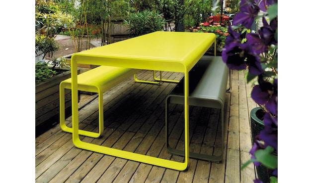 Fermob - BELLEVIE Tisch - 02 Zederngrün - 6