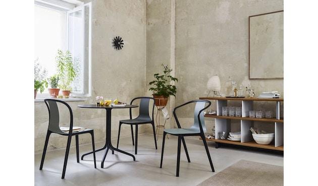 Vitra - Belleville Chair mit Armlehnen - creme - 4