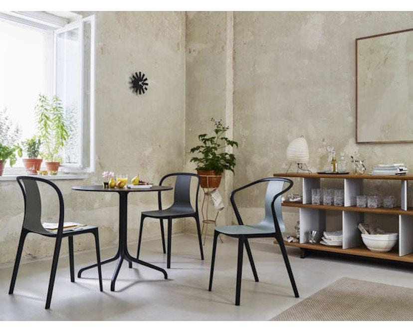 Vitra - Belleville Chair ohne Armlehnen - basalt - 3