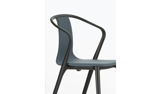 Vitra - Belleville Chair ohne Armlehnen - schwarz - 5