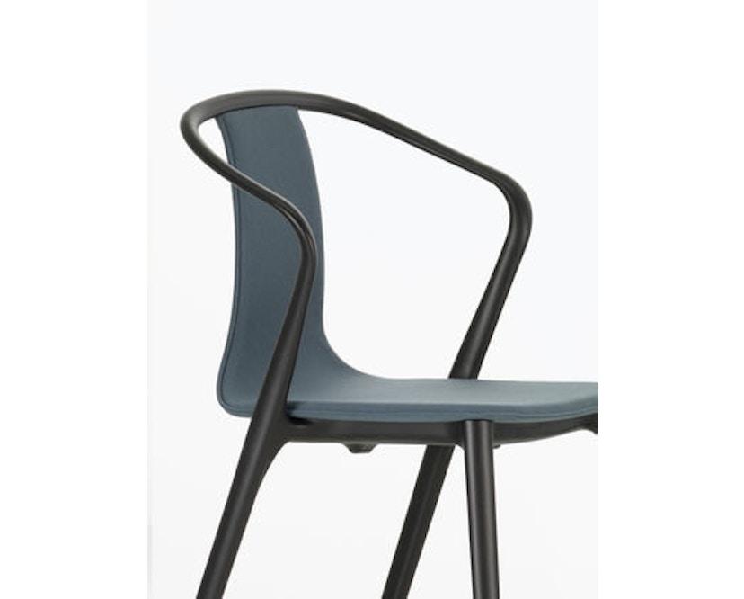 Vitra - Belleville Chair ohne Armlehnen - basalt - 5