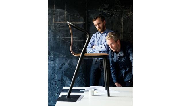 Vitra - Belleville Chair ohne Armlehnen - schwarz - 2