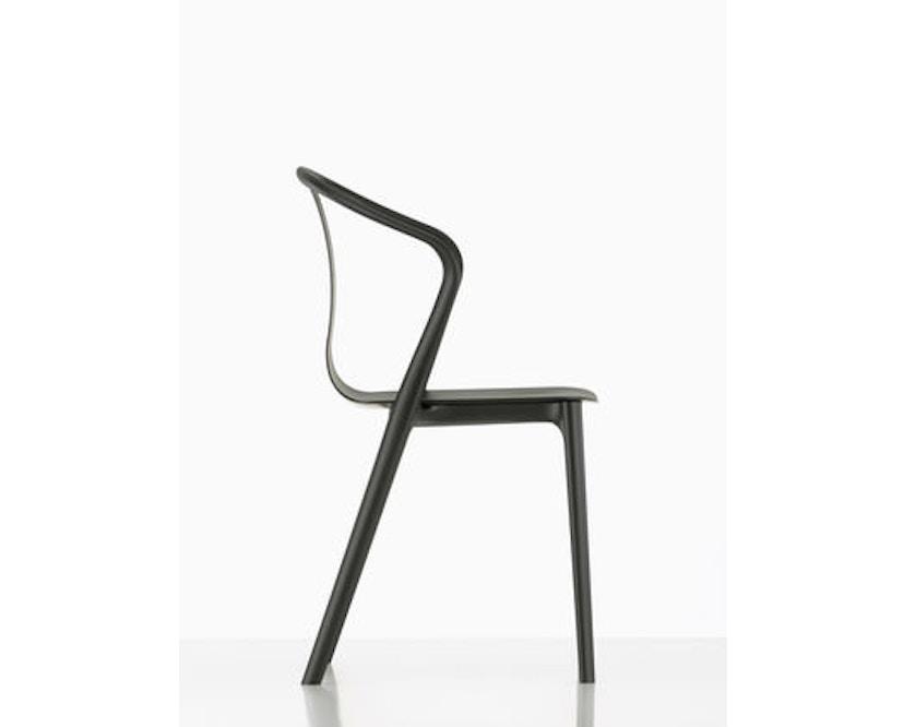 Vitra - Belleville Chair ohne Armlehnen - basalt - 6