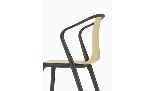 Vitra - Belleville Chair mit Armlehnen - creme - 8