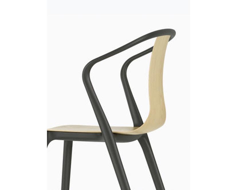 Vitra - Belleville Chair ohne Armlehnen - basalt - 7