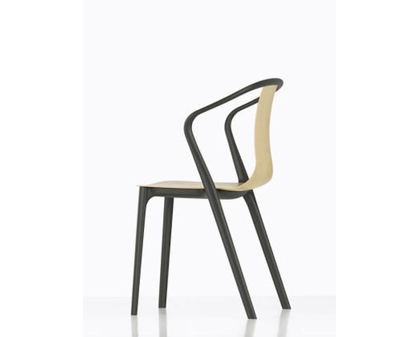 Vitra - Belleville Chair ohne Armlehnen - basalt - 8
