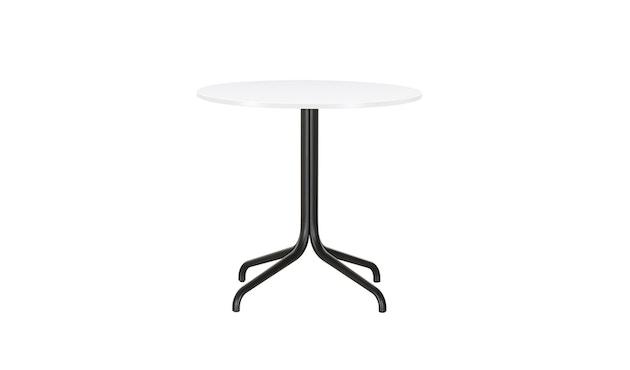 Vitra - Belleville Bistro Table - Melamin direktbeschichtet weiß - Ø796mm - 2
