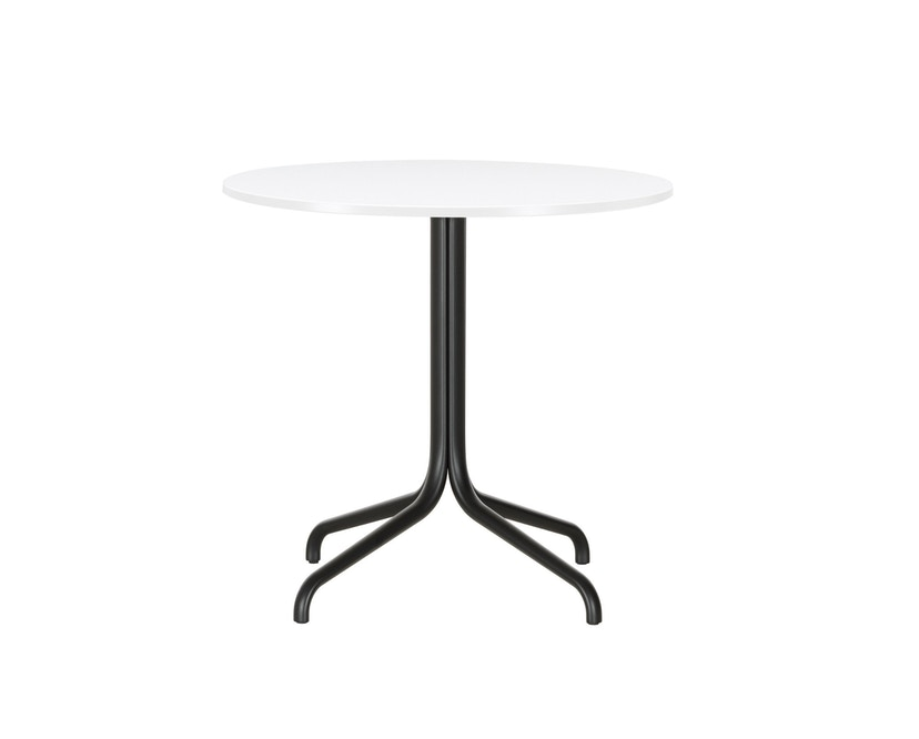 Vitra - Belleville Bistro Table - Melamin direktbeschichtet weiß - Ø796mm - 2