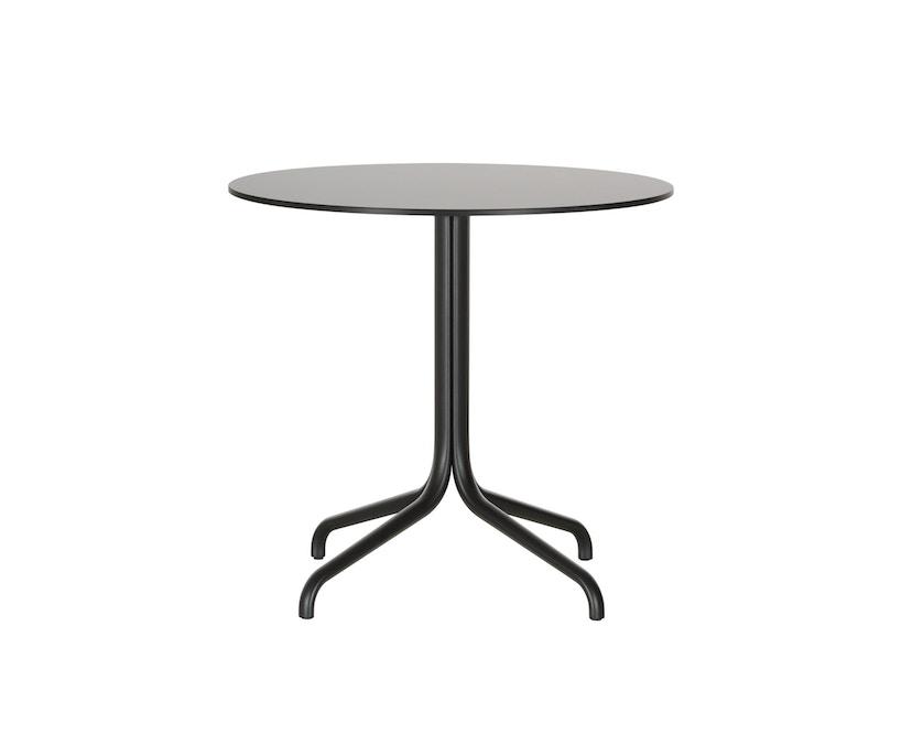 Vitra - Belleville Bistro Table outdoor - Ø 79,6 - Volkernmateriaal zwart - 4