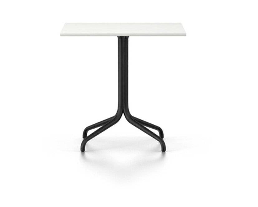 Vitra - Belleville Bistro Table - Melamin direktbeschichtet weiß - B750xL750mm - 1