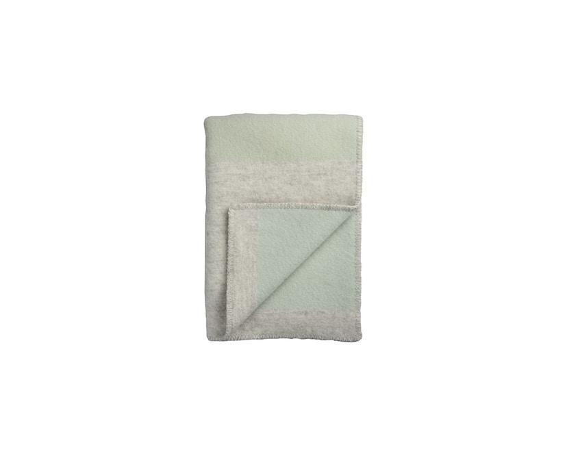 Roros Tweed - Bergstaden Decke - olive-mint - 1