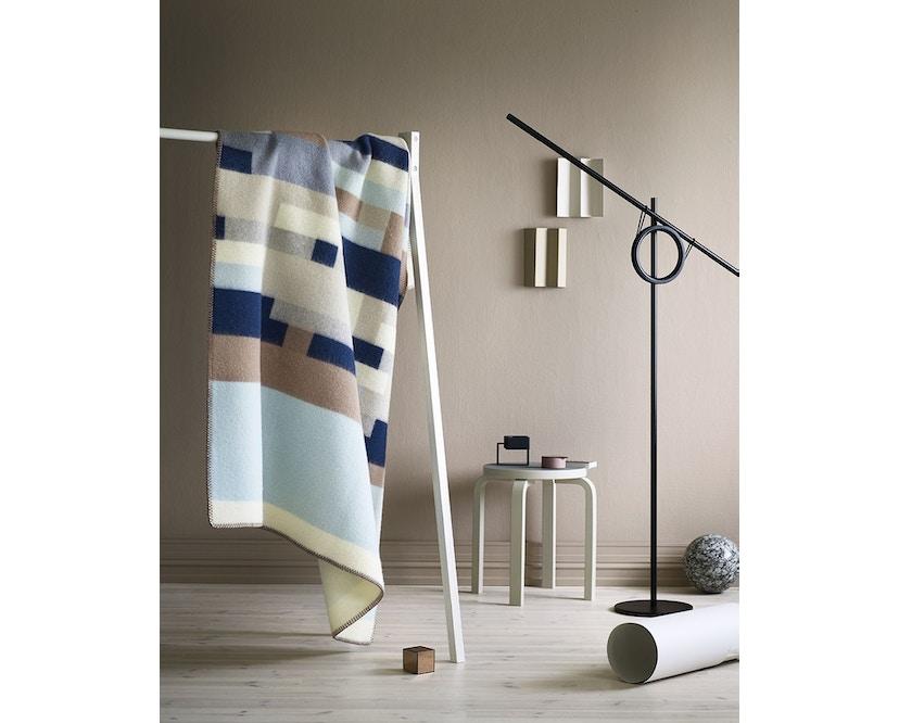 Roros Tweed - Bergstaden Decke - olive-mint - 4