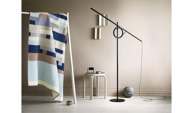 Roros Tweed - Bergstaden Decke - olive-mint - 5