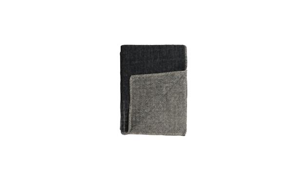 Roros Tweed - Bernadette Decke - dark grey-light grey - 1