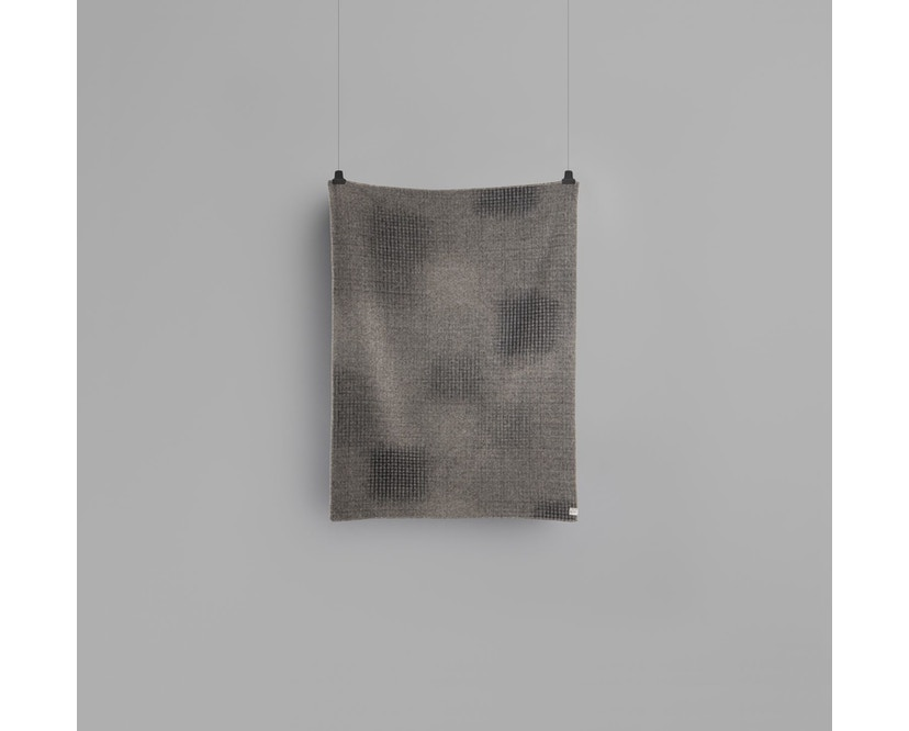 Roros Tweed - Bernadette Decke - dark grey-light grey - 2