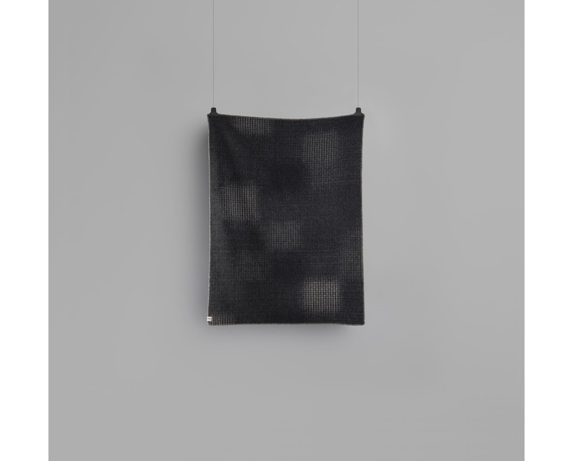 Roros Tweed - Bernadette Decke - dark grey-light grey - 3