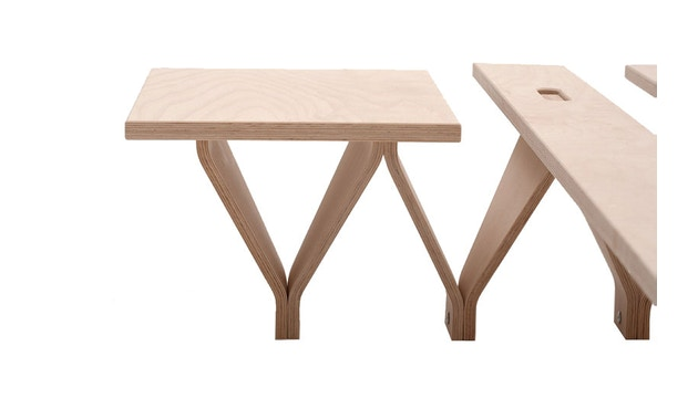 Tojo - Table de chevet Bett Lieg - 1