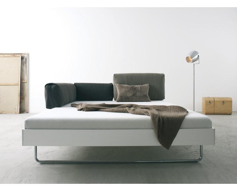 more - Nova Bett - 180 x 200 cm - Aluminium Rahmen - Bettfuß 2 - 200 x 200 cm - 2