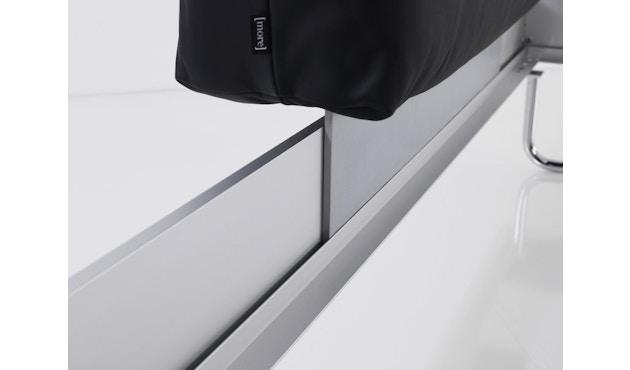 more - Nova Bett - 180 x 200 cm - Aluminium Rahmen - Bettfuß 2 - 200 x 200 cm - 3