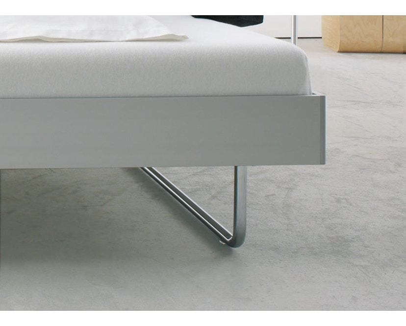 more - Nova Bett - 180 x 200 cm - Aluminium Rahmen - Bettfuß 2 - 200 x 200 cm - 4
