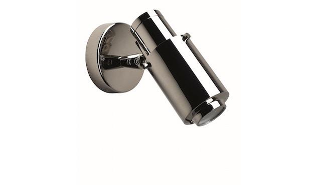 DCW éditions - BINY SPOT Wandleuchte - nickel/nickel - ohne Schalter - 1