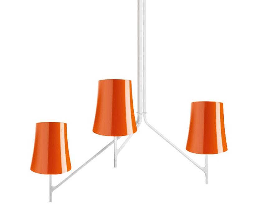 Foscarini - Birdie 3 Hängeleuchte - arancio - 1