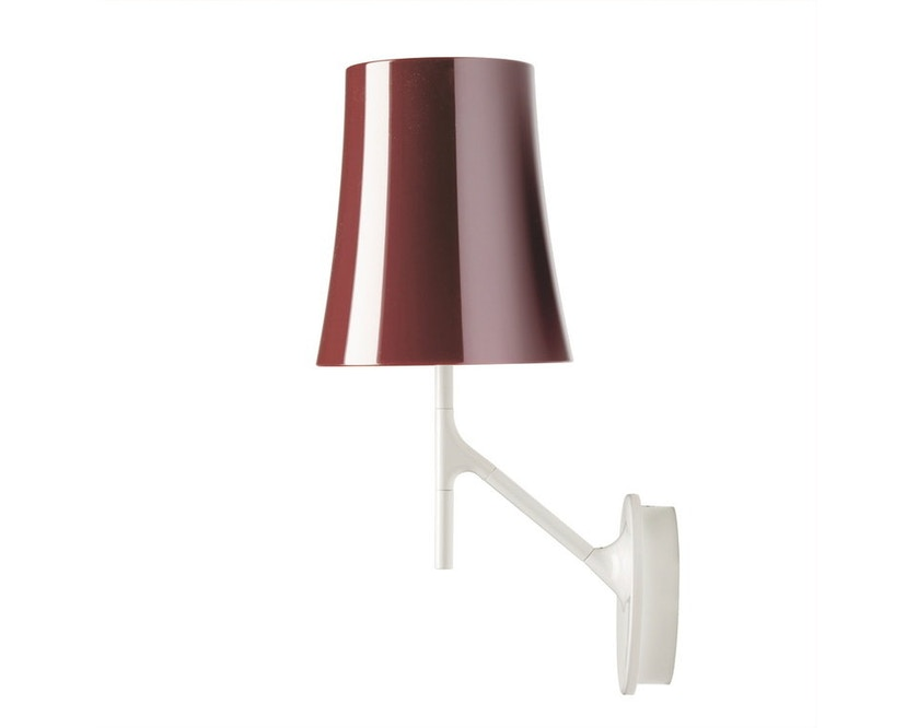 Foscarini - Applique Birdie piccola - non dimmable - rouge amarante - 0