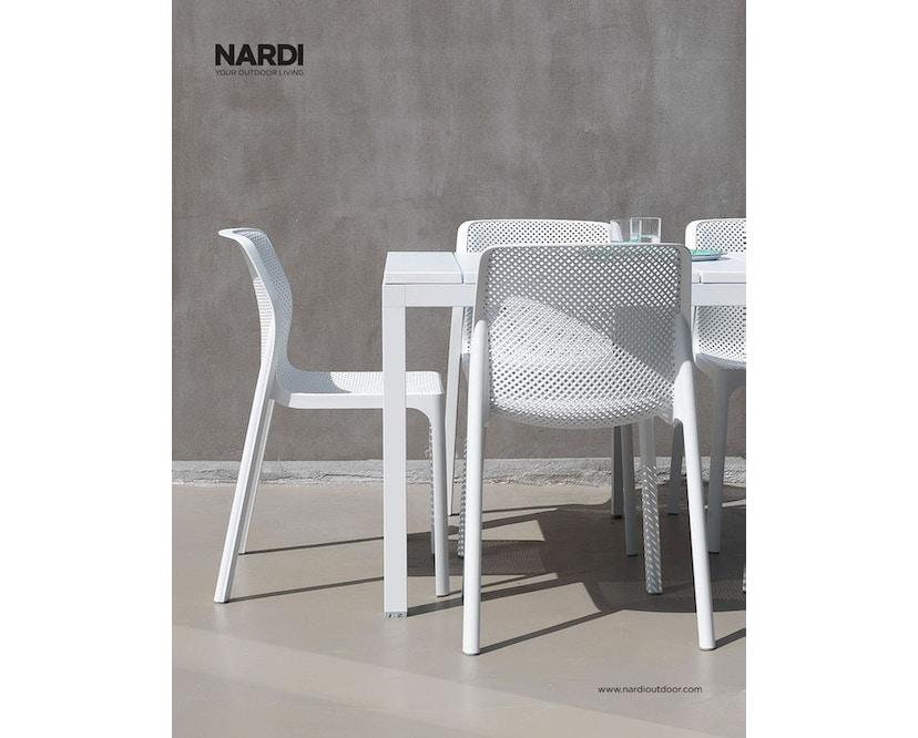 Nardi - Rio Ausziehtisch - weiß - 3