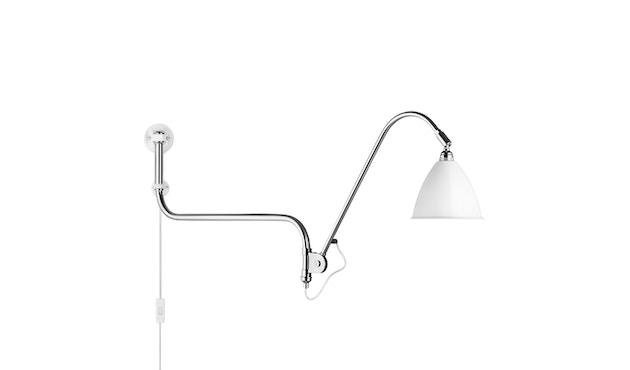 Gubi - BL10 wandlamp - mat wit/ chroom - 1