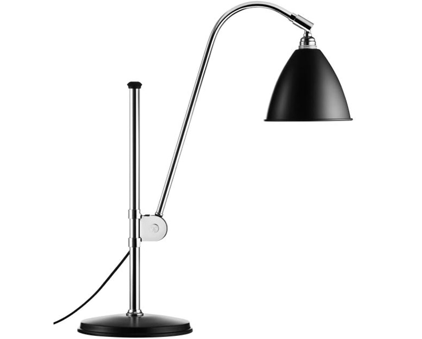 Gubi - BL1 tafellamp - mat zwart/ chroom - 1