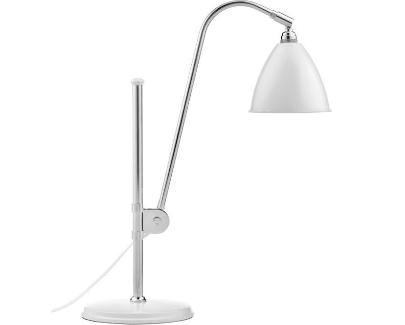 Gubi - BL1 Tischleuchte - matt weiß/chrom - 1