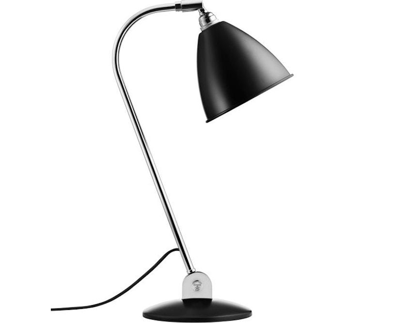Gubi - BL2 tafellamp - mat zwart/ chroom - 1